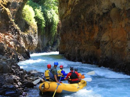 White Salmon River Rafting in Oregon and Washington