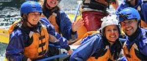 wedding whitewater river rafting oregon and washington