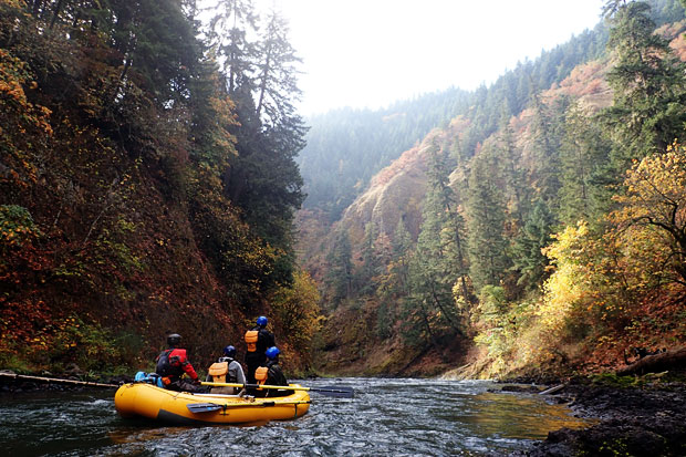 whitewater rafting washington white salmon river