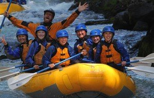 wet planet whitewater rafting