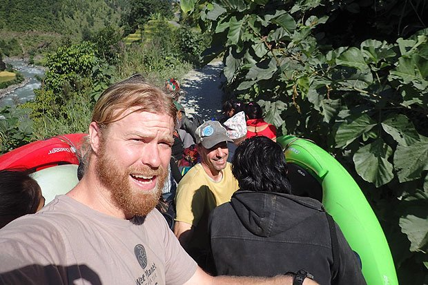whitewater river kayaking in nepal