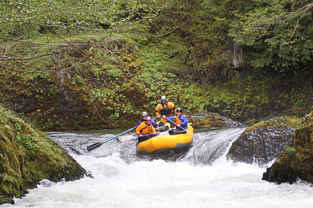 Rafting the West Fork of the Hood River