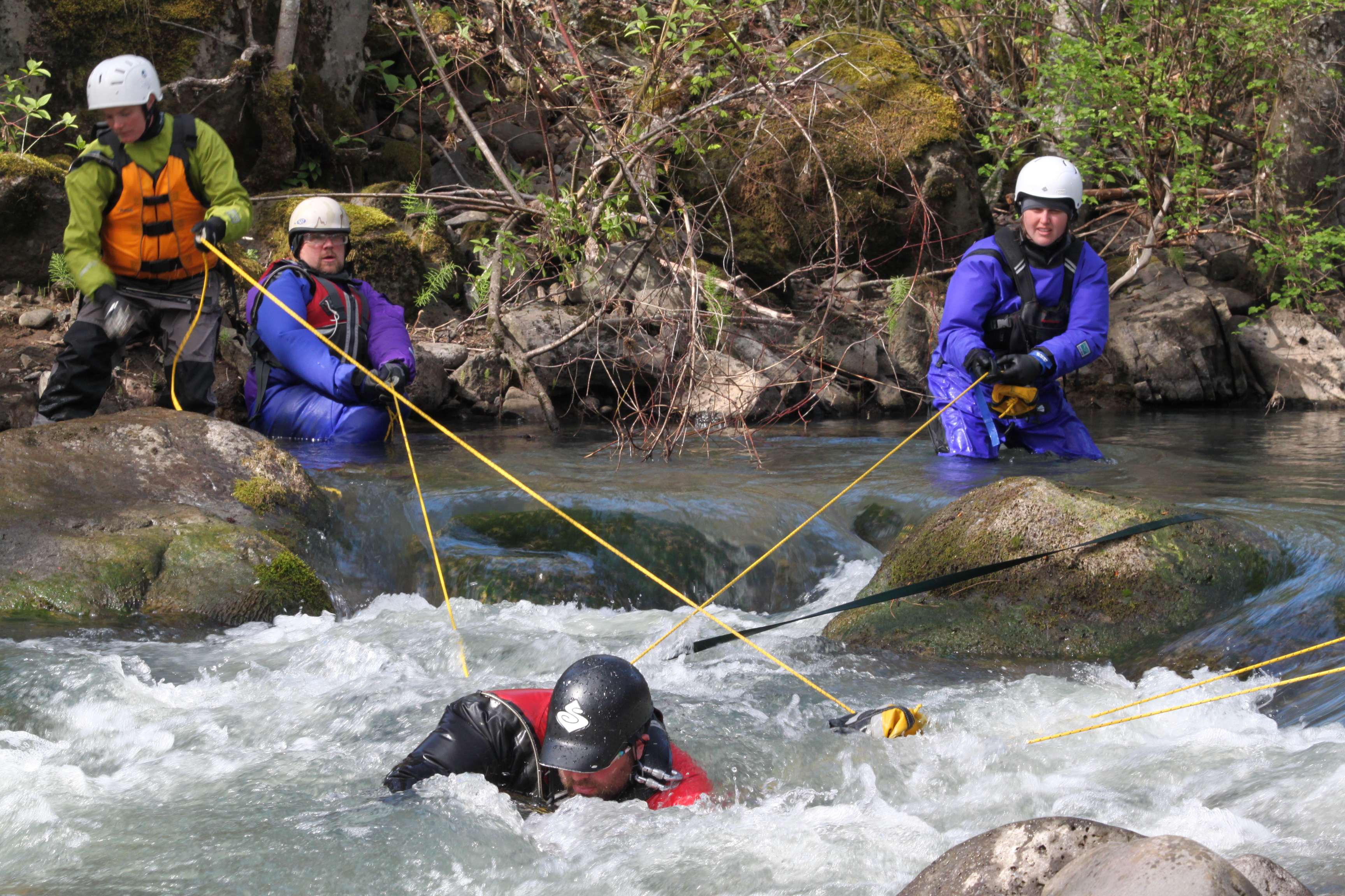 swift water river rescue course