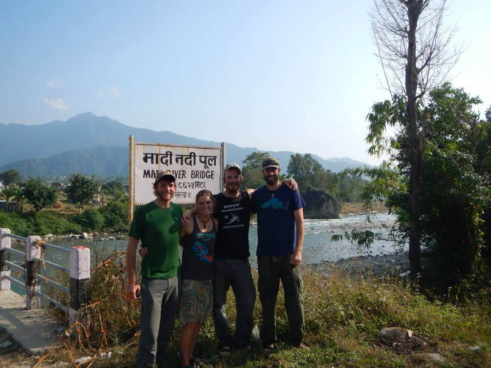 Wet Planet Staff in Nepal
