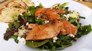 Roasted Salmon Caught and Delivered from the Klickitat River by Wild Columbia Salmon