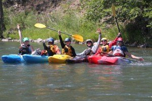 Circle up with First Descents kayaking on the Klickitat River