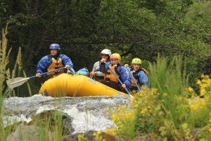 Rafting with First Descents on the White Salmon River at Husum Falls