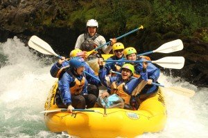 First Descents goes rafting on the White Salmon River