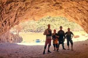 Wet Planet Staff in a Cave on the Owyhee