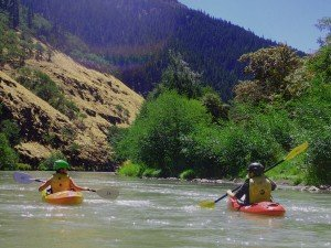 Kayaking on the Wild & Scenic Klickitat River