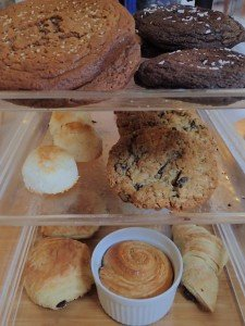 Wet Planet Cafe's baked goods provided by White Salmon Baking Co.