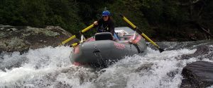 TAKING AN OAR RIG DOWN WOODALL SHOALS ON THE CHATTOOGA
