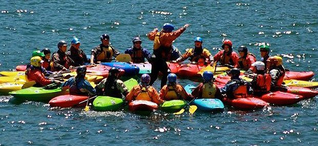 Kids kayak gift of experiences