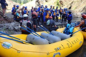 Wet Planet hosting Gorge Owned Sense of Place event on the White Salmon River for the community
