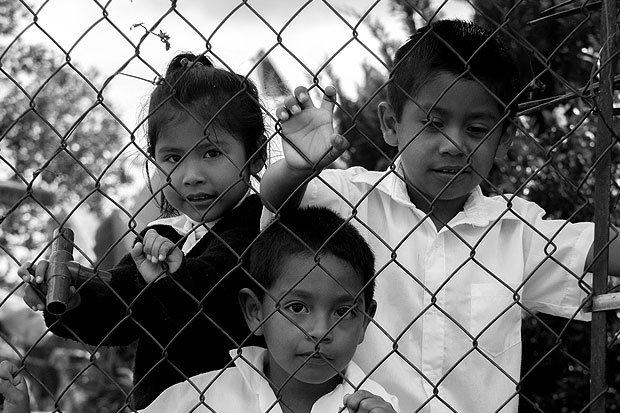 School Kids Eastern Mexico