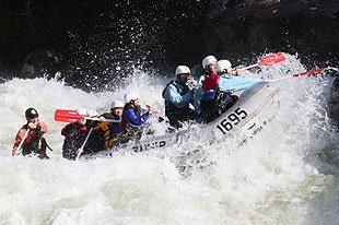 Investment Banker David Seal turned Guide on Gauley River, WV.