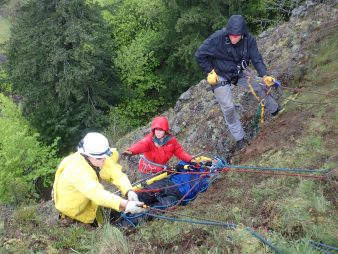 technical rope rescue litter tender Washington and Oregon