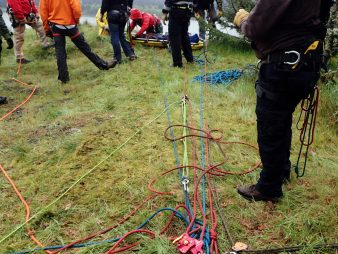 Washington technical rope rescue course TRR