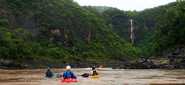 Kayaking the Zambezi - a moment of reflection