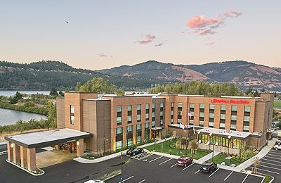 Wet planet rafting lodging package with Hampton Inn and Suites Hood River