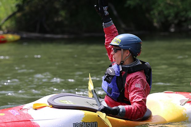 jackson zen best boats for learning how to kayak klickitat river first descents beginning kayak course