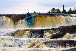 Agers falls highest rafted waterfalls