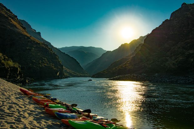 best boats for learning how to kayak main salmon river multi day kayaking trip