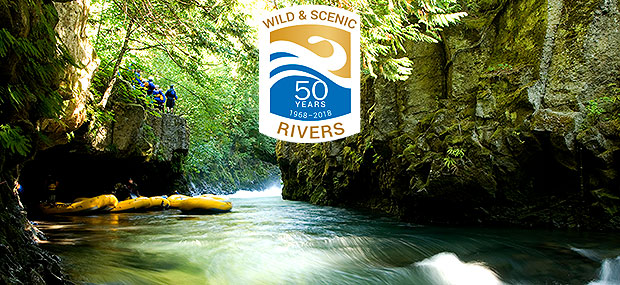 50th anniversary wild and scenic rivers white salmon river