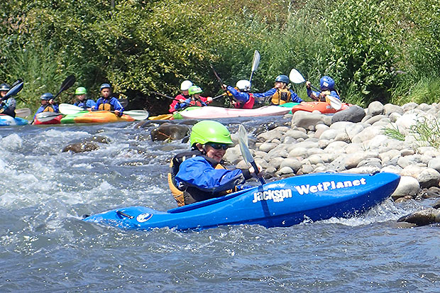 kids kayak camp gift of experiences