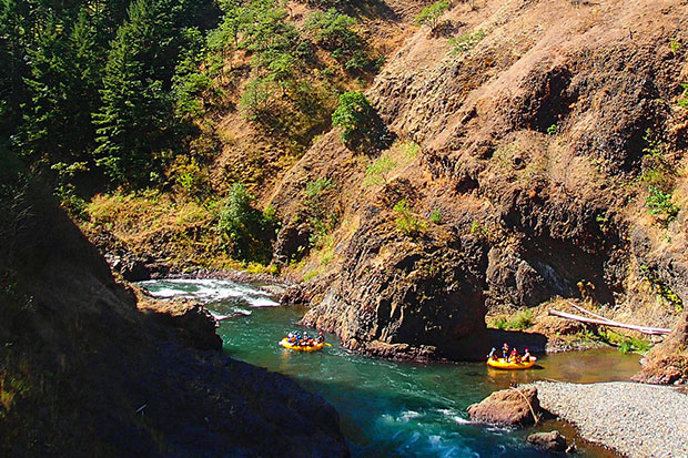Wild and Scenic River White Salmon River Condit Dam Site