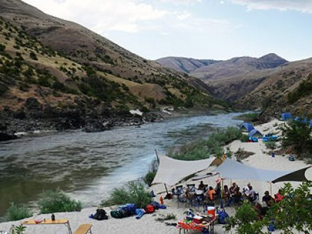 idaho river of no return rafting main salmon river