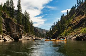 Rafts on Main Salmon River Featured Image