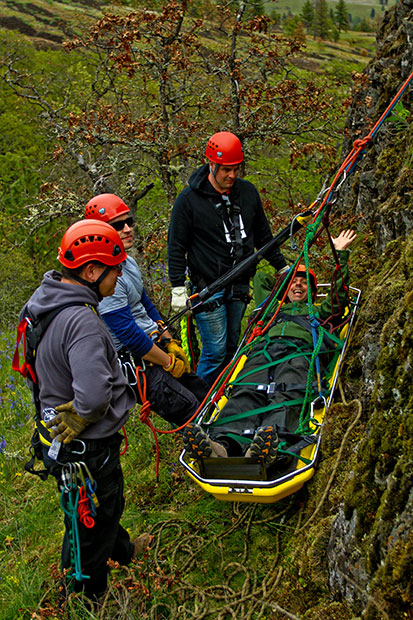 Wilderness Rescue Training with Wet Planet