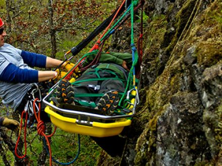 Wilderness Rescue Training with Wet Planet_Technical Ropes Rescue Course