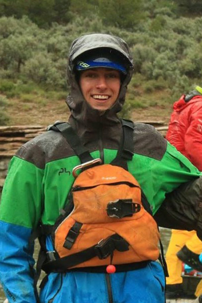 Alex Auchinachie wet planet raft guides Dolores River