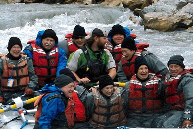 Britt Oxford wet planet raft guides Nenana River Denali National Park Alaska