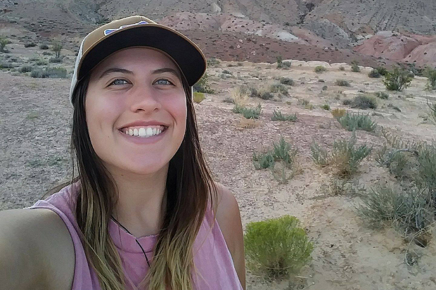 Haley Giannone wet planet raft guides hiking