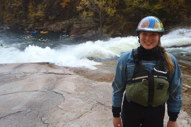 Kristy Adams wet planet raft guides Tallulah River