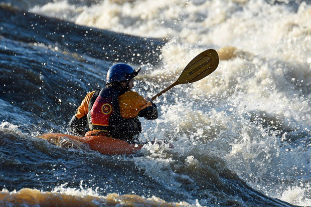 Max posner wet planet raft guide the James River