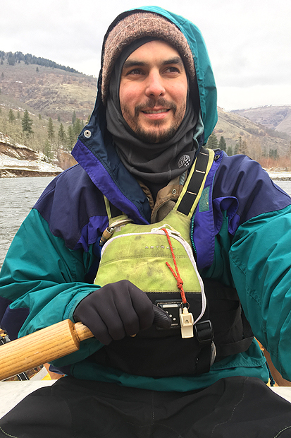 Jonathan Kranzley wet planet raft guides klickitat river