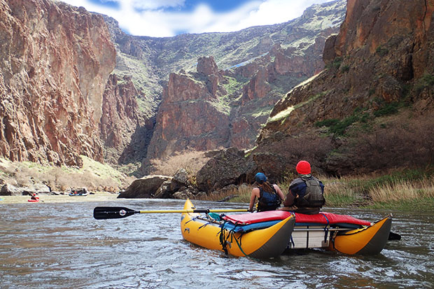 Owyhee river water levels spring rafting oregon multi-day whitewater