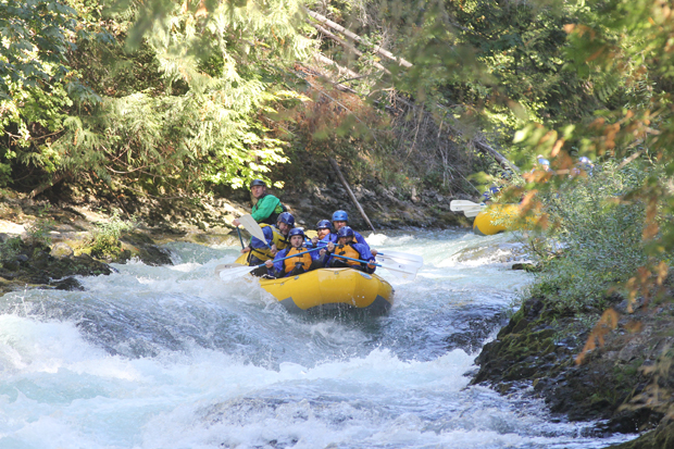 White salmon river levels water flows maytag