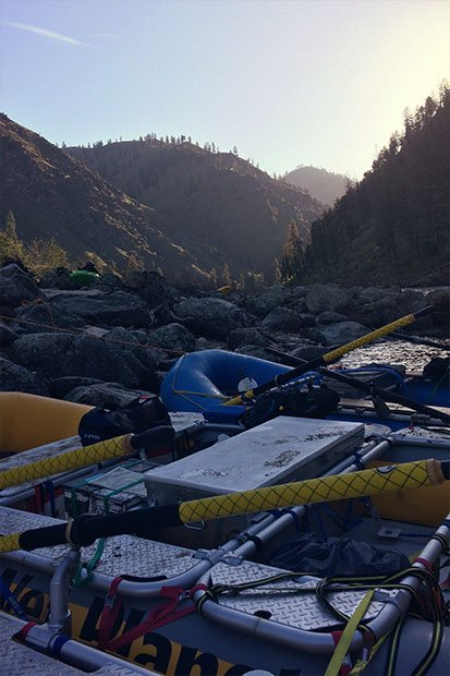 Main Salmon River sunrise