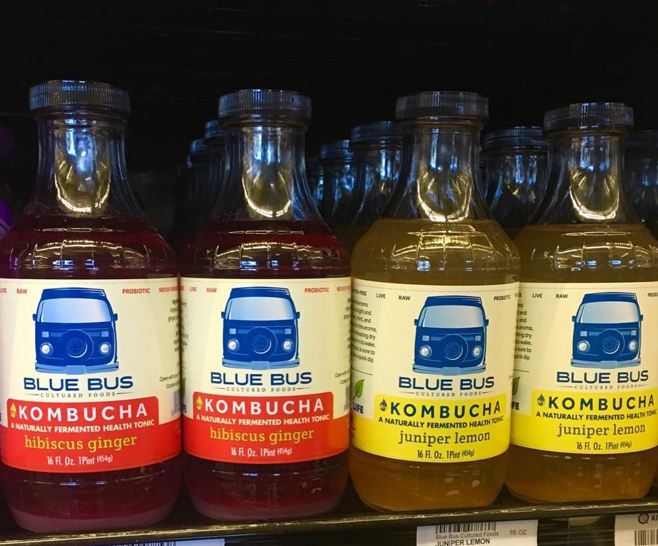 Blue Bus Cultured Foods Kombucha
