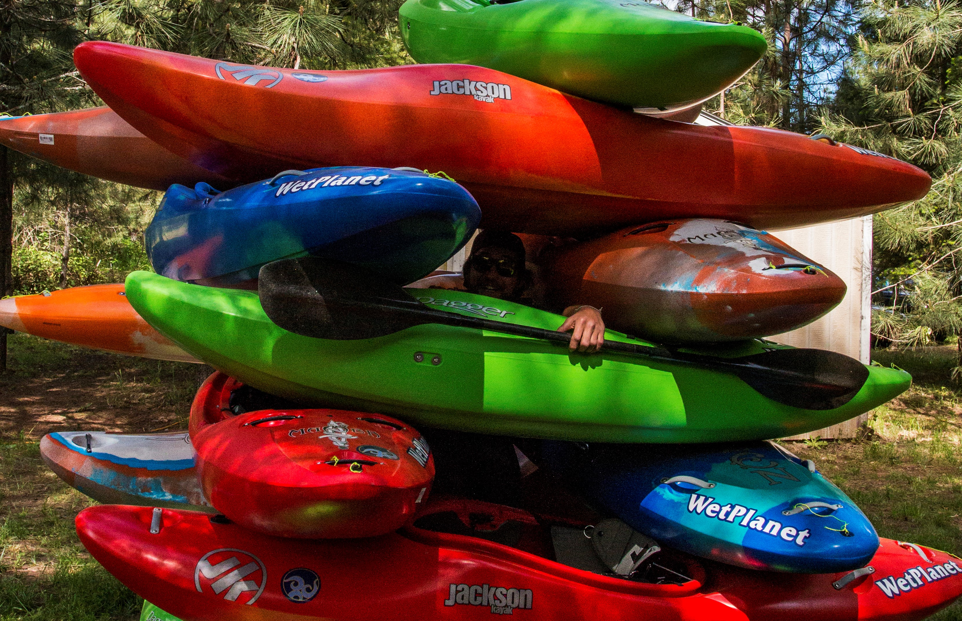 Kayak School Annual Used Kayak Sale - Wet Planet Whitewater