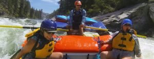 Big Waves while Rafting on Idaho's Main Salmon River