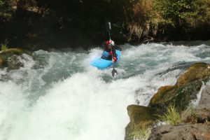 Wet Planet Whitewater Staff Naomi Whitewater Kayaking Husum Falls