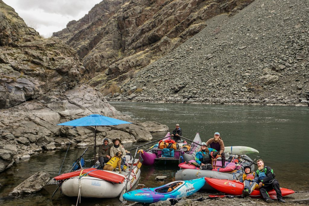 Hells Canyon Multiday River Trip Group Photo