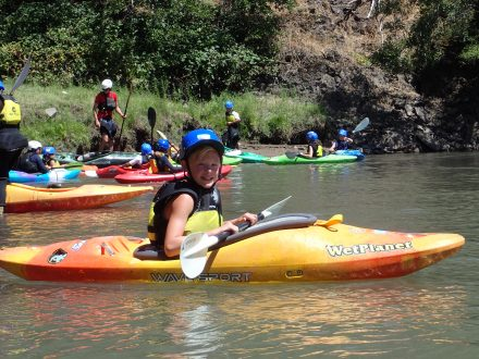 Wet Planet Getting Kids on the River During Annual Kids Kayak Camp