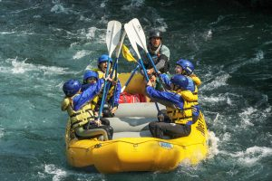 Ethan Wet Planet Raft Guide White Salmon River
